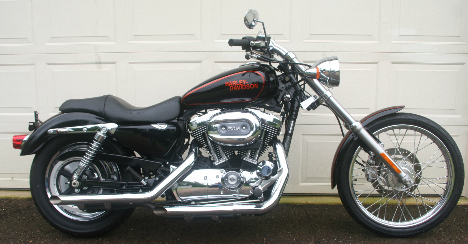 tubes fourche sportster