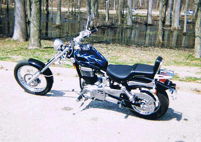2005 suzuki s40 savage with the 14 degree 8 o s tubes. Black Bedroom Furniture Sets. Home Design Ideas